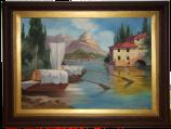 Gemälde und Rahmen - Endzustand